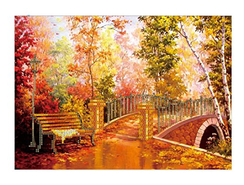 - Franterd Home Decor Diamond Painting 5D DIY Gold Autumn Rhinestone Gems Embroidery Arts Craft Adults' Children's Paint-By-Number Kits Cross Stitch for Home Wall Decoration