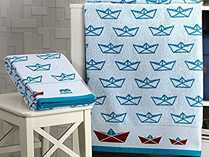 Mora - Toalla de baño Infantil A94 - Color Azul