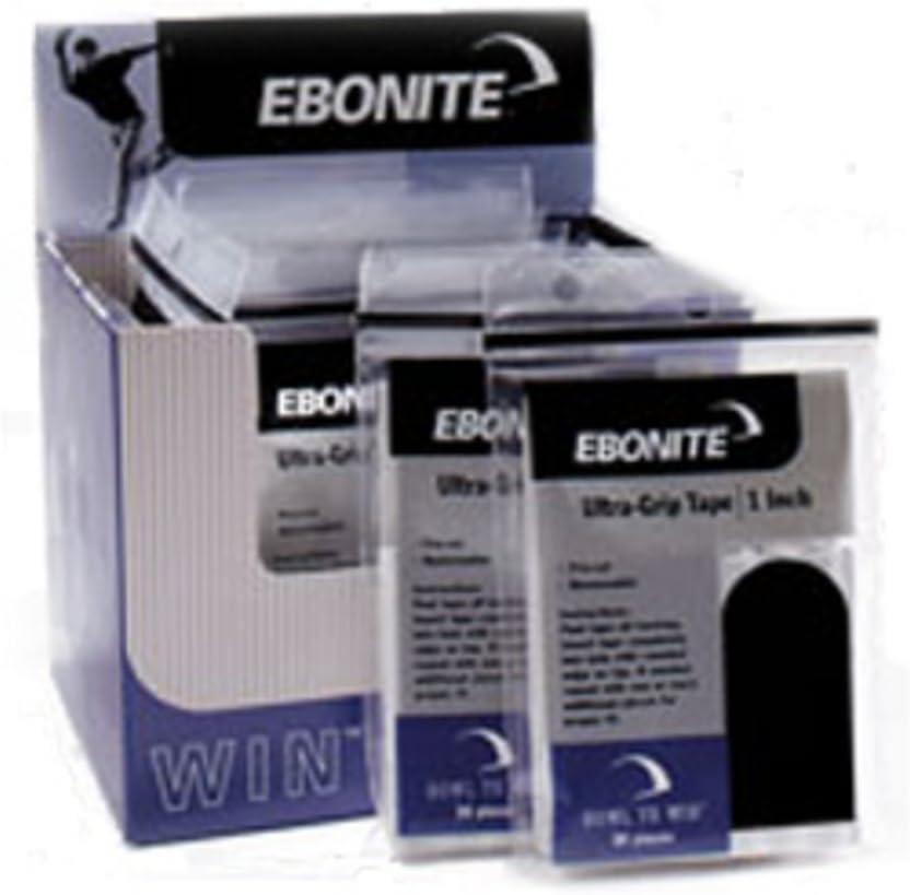 "30 pieces Ebonite Ultra Grip Black Tape 3//4/"""