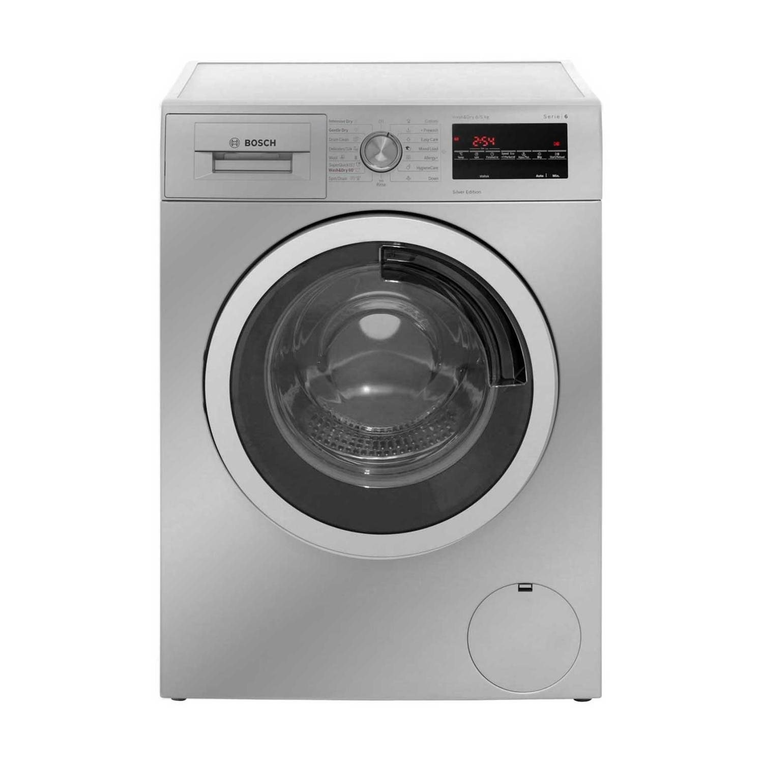 Bosch wvg3046sgb Freestanding 8 kg 1500rpm A Silver Front Load