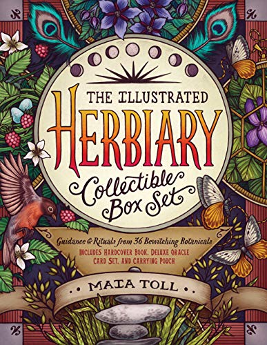 The Illustrated Herbiary Collectible Box Set: Guidance and Rituals from 36 Bewitching Botanicals; Includes Hardcover Book, Deluxe Oracle Card Set, and Carrying Pouch ()