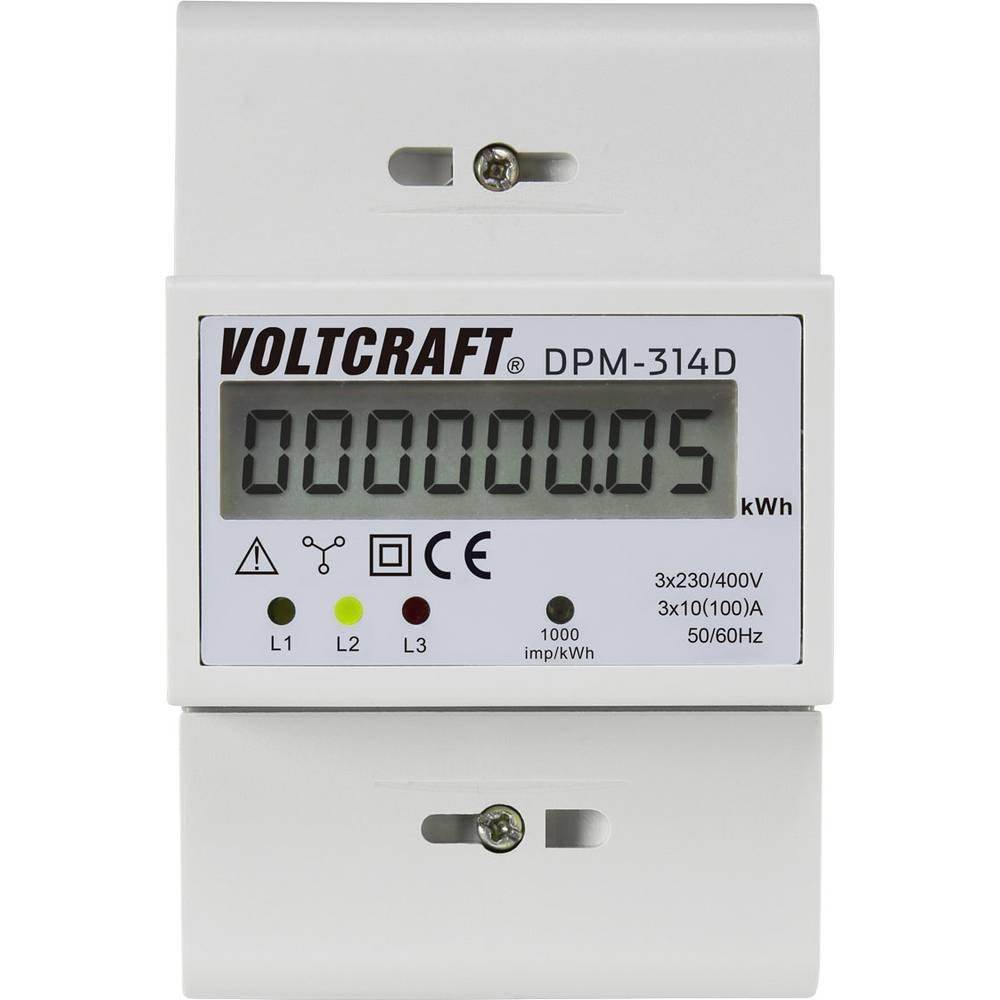 Nein VOLTCRAFT DPM-314D Drehstromz/ähler digital 100 A MID-konform