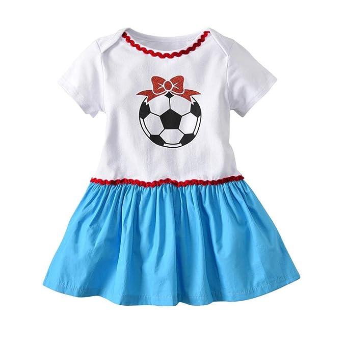 Huhu833 Baby Kleid Kleinkind Infant Baby Madchen Kleid