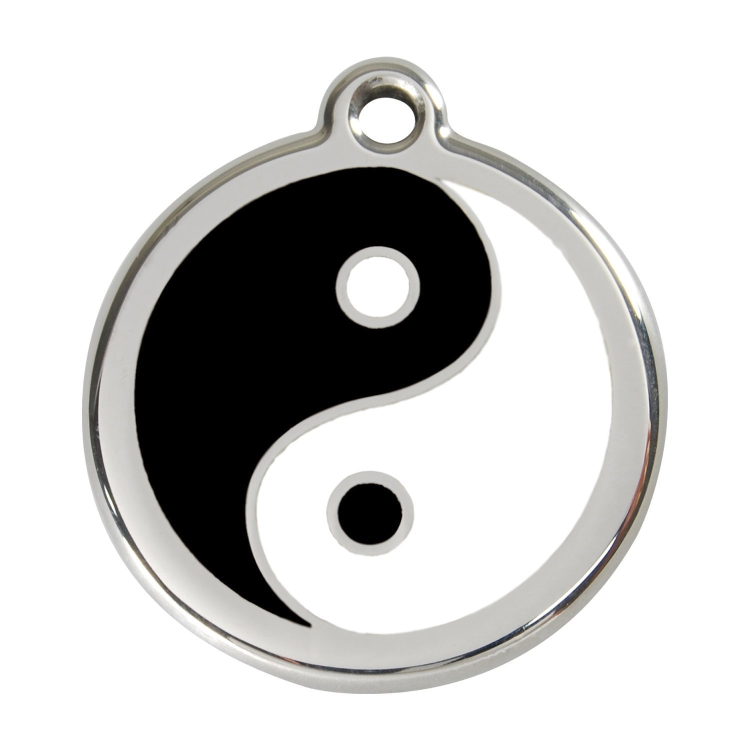 Red Dingo Médaille pour Chien Ying Yang 38 mm 01-YY-BB-LG