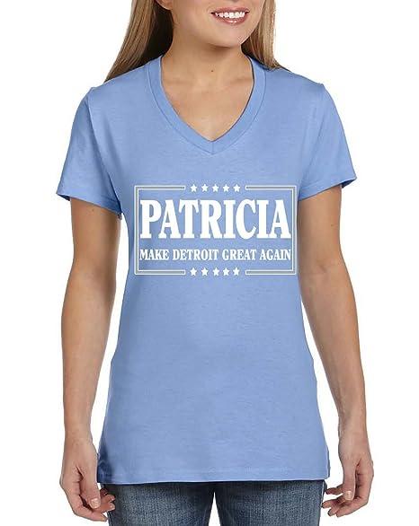 WB SHIRTS Blue Detroit Patricia Making Detroit Great