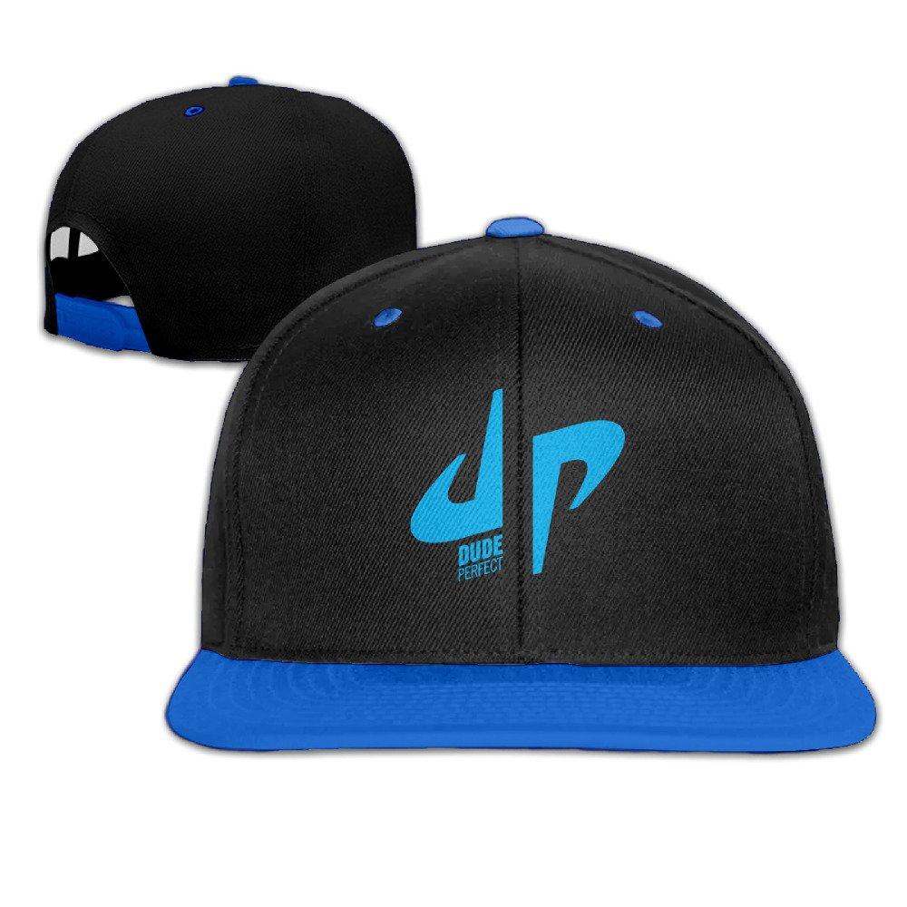 Kualday Kids DP Logo Dude Perfect Plain Adjustable Snapback Hats Caps
