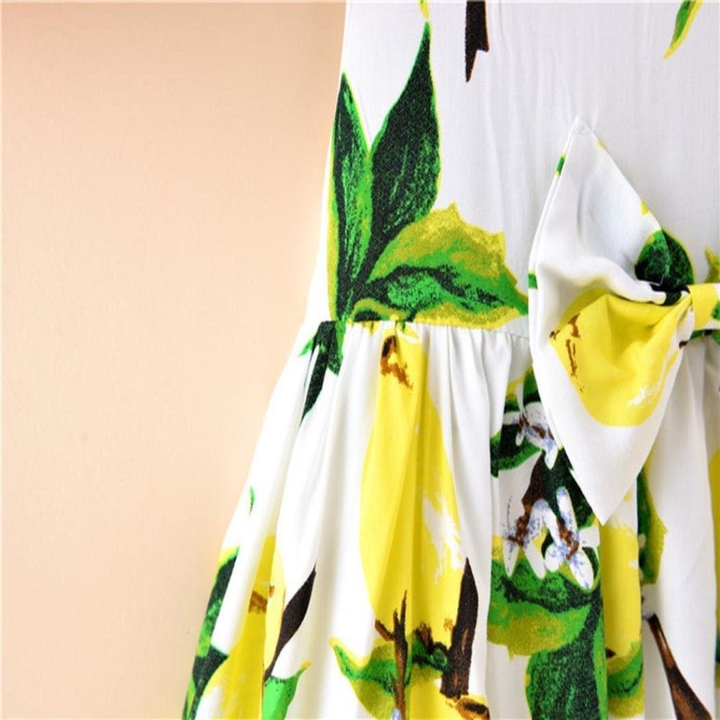 URSING Kleinkind M/ädchen Sommer Prinzessin Kleid mit Bowknot Baby Party Hochzeit /ärmellose Kleider s/ü/ße Strandkleid Sommerkleid Kinderkleider Freizeitkleider 1-4 Jahre