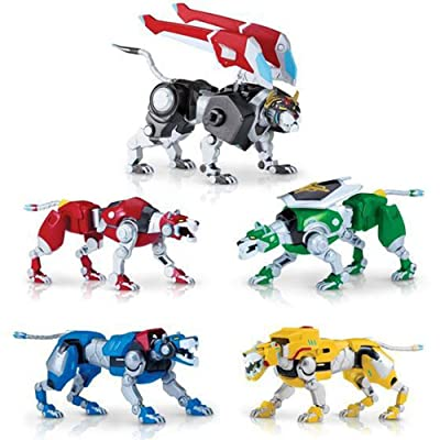 Dreamworks Voltron Legendary Defender Exclusive Lions of Voltron Set: Toys & Games