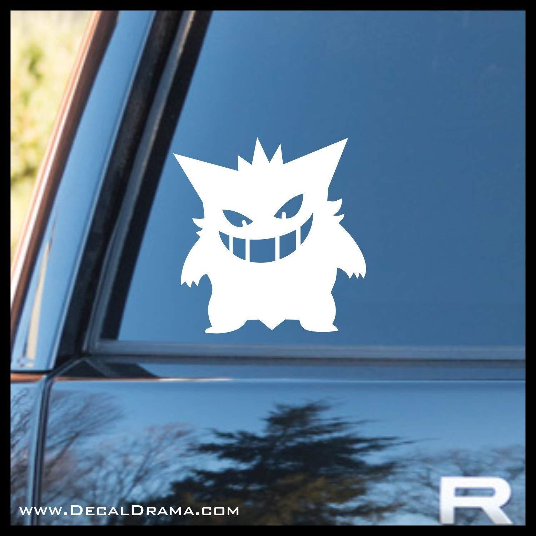 Pokemon Gengar Variation 1 Vinyl Car Window Laptop Decal Sticker