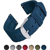 Archer Watch Straps | Cintura di Sicurezza Cinturino di Nylon Ricambio Sgancio Rapido Cinghia Orologio per Donne e Uomini, Orologi e Smartwatch | Colori Assortiti, 18mm, 20mm, 22mm