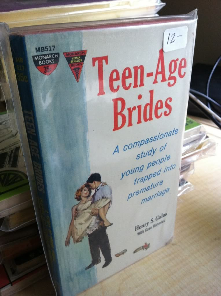 Teen-age brides: A compassionate study of young people trapped into premature marriage (Monarch human behavior books), Galus, Henry S