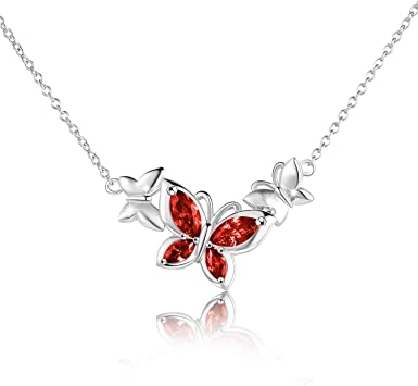 Butterfly Charm Necklace Butterfly Pendant Necklace Bridesmaid Gift Butterfly Necklace 925 Silver Butterfly Chain Sterling Silver