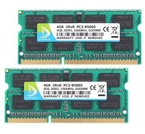 4GB Memory PC3-10600 DDR3-1333MHz SODIMM For DELL Latitude E6320