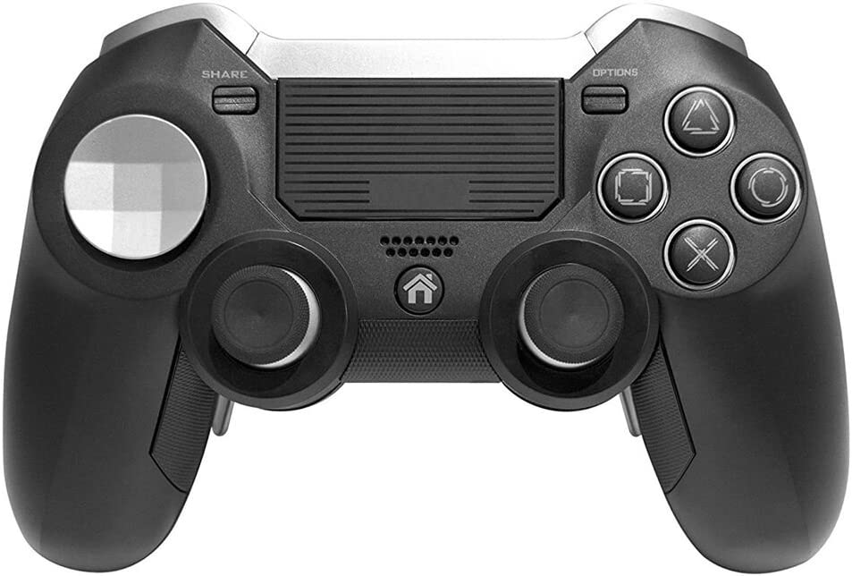 PS4 Elite Wireless Controller with Back Paddles,Dual Vibration Elite PS4 Modded Game Controller for Play Station 4 with Speaker and 3.5mm Audio Headphone Jack