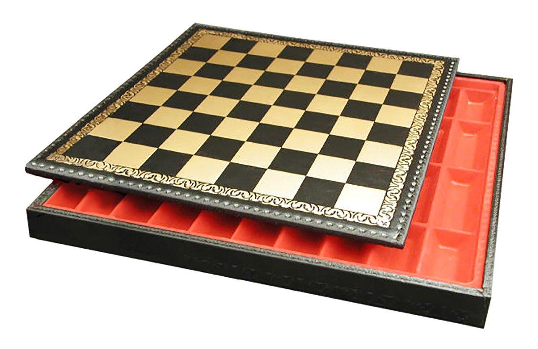 【期間限定!最安値挑戦】 Ital Fama 221GN Fama Pressed Leather Leather B000NDMASO Chess Board and Chest B000NDMASO, フルビラチョウ:e6c34984 --- en.mport.org