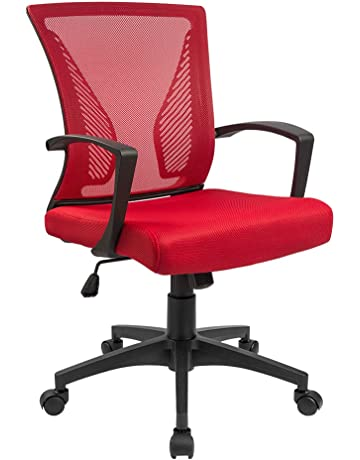 huge discount d9633 792ac Home Office Desk Chairs | Amazon.com