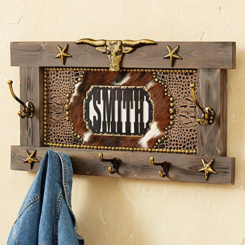 Black Forest D cor Western Personalized Coat Rack