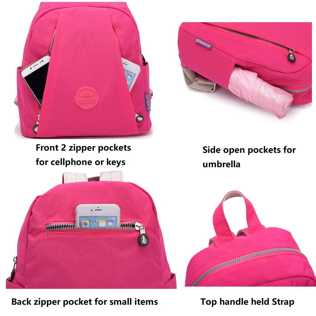 d055a2fab645 Amazon.com  TianHengYi Women s Lightweight Small Nylon Backpack Casual  Strong Mini Backpack Multipurpose Daypack for Girls Cycling Hiking Camping  Travel ...