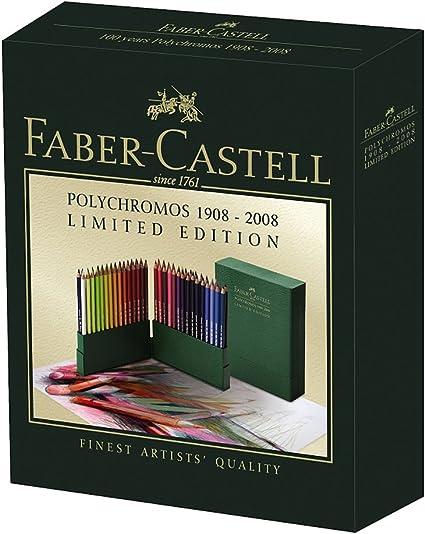 Faber-Castell Polychromos 100yr Retro caja de 60 lápices de ...