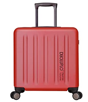 PINCHU Maletas para Cabina piloto Laptop con Ruedas Business Trolley Maletin informático Carry On Roller Cases, Red: Amazon.es: Deportes y aire libre