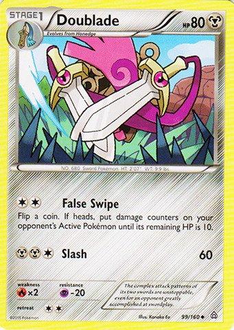 Pokemon - Doublade (99/160) - XY Primal Clash