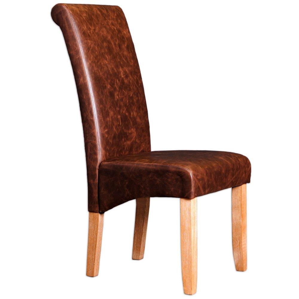 Diseño elegante de estilo colonial silla Frank acabado ...