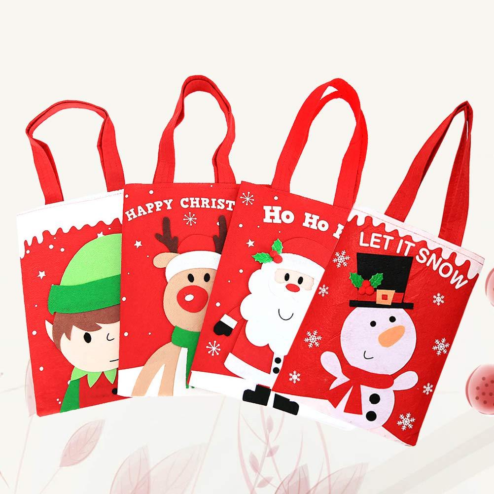 Amazon.com: Healifty 4pcs Christmas Themed Portable Candy ...