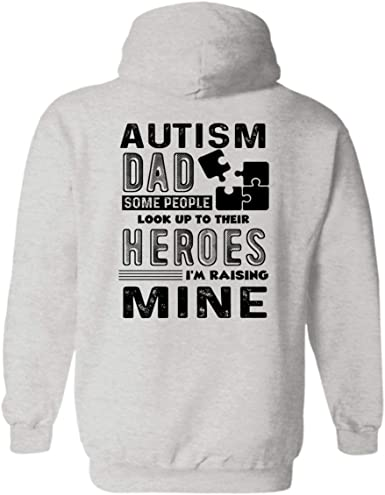 Autism Awareness Pullover Hoodie Sweatshirt Mens Long Sleeve Hoodie Shirt