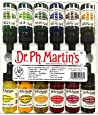 Dr. Ph. Martin's 800942-XXX Spectralite Private Collection Liquid Acrylics Bottles, 0.5 oz, Set of 12 (Set 2)