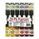 Dr. Ph. Martin's 800942-XXX Spectralite Private Collection Liquid Acrylics Bottles, 0.5 oz, Set of 12 (Set 2)