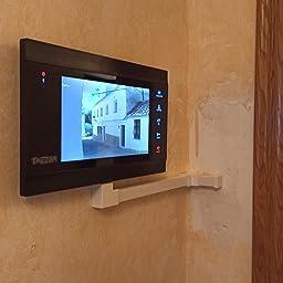 TMEZON 10 pulgadas de pantalla táctil inalámbrica/wifi IP inteligente Video puerta teléfono Timbre de la puerta Intercomunicador Sistema de entrada con 720P HD cámara(3M1C): Amazon.es: Bricolaje y herramientas