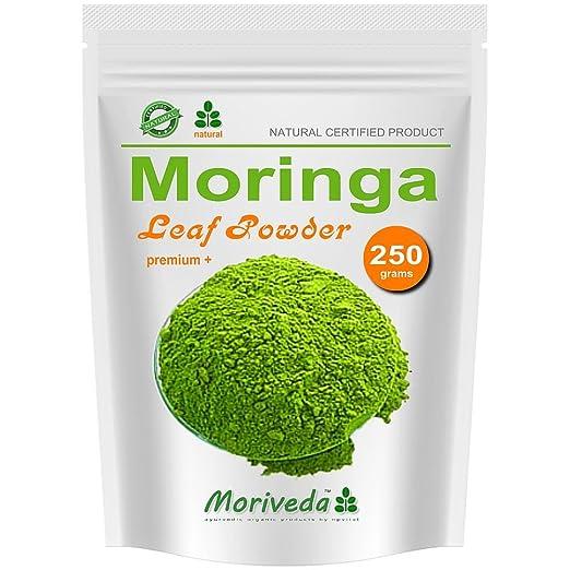 2 opinioni per Moringa 250g del foglio polvere, Oleifera Premium Plus cibo prima certificata