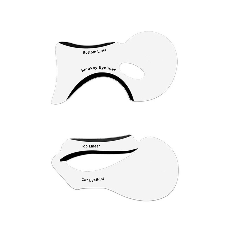 Eyeliner Stencil - Eyeshadow Guide, Smokey Cat, Quick Eye Makeup ...