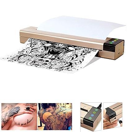 Máquina de impresión de tatuajes con copiadora de transferencia de ...