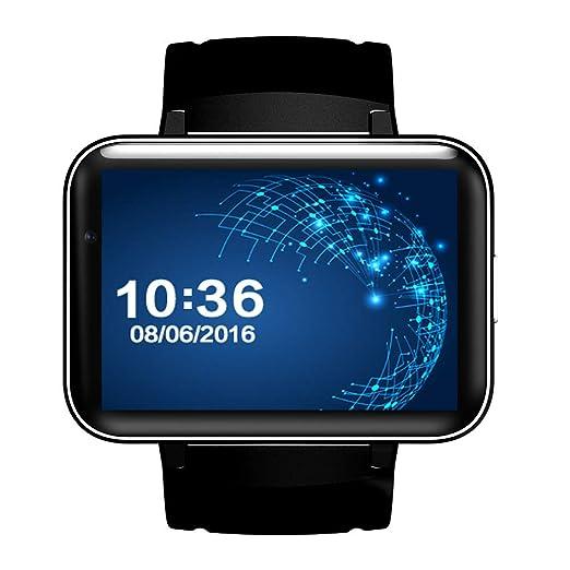 HUIGE SmartWatch muñeca Reloj Impermeable Android Wear 2,0 ...