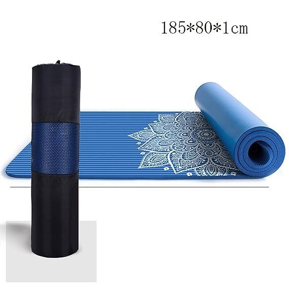 Antideslizante Yoga Mat --- NBR Tapa Mat antideslizante Mat ...