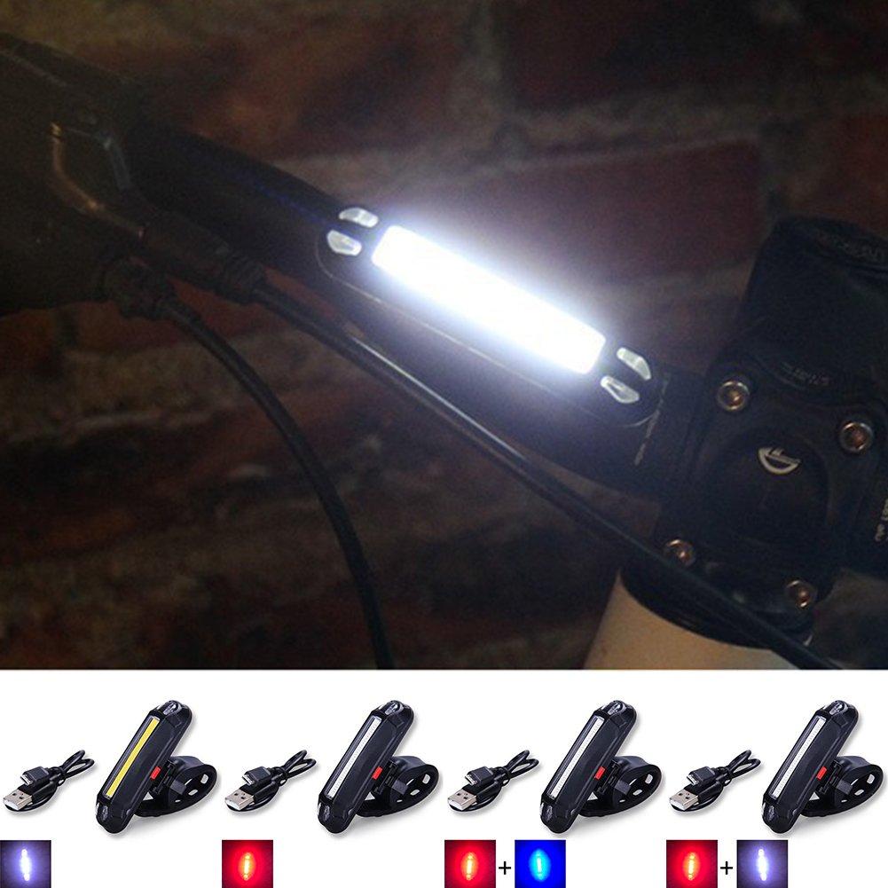 94f038387 FAVOLOOK Luz trasera USB recargable LED súper brillante para bicicleta luz  trasera fácil de instalar luz roja luz trasera casco lámpara 6 modos  ciclismo ...
