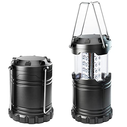 Lantern New Ultra Bright LED Lantern - Camping Lantern - Collapses - Suitable for: Hiking, Camping, Emergencies, Hurricanes, Outages - Super Bright - Lightweight - Water Resistant