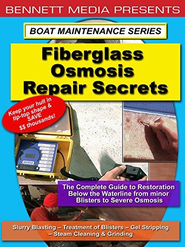 Fiberglass Osmosis Repair Secrets (Resin Cleaning)