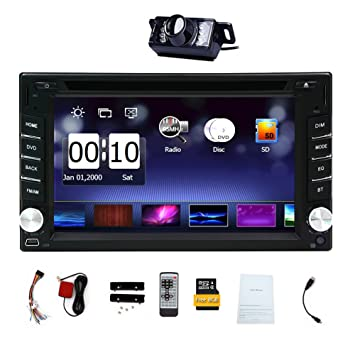 DVD Player Autoradio Multimedia Automotive Parts 3D GPS CD Auto Radio Electronics 2 Din in Dash
