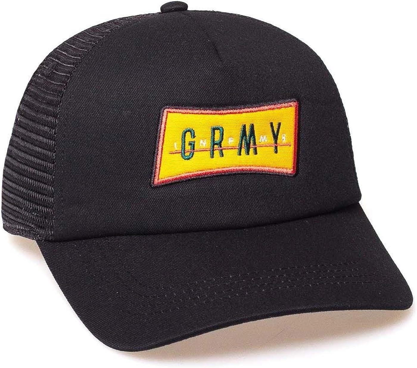 GRIMEY Gorra Midnight Trucker Curved Visor Cap SS19 Black-Snapback ...