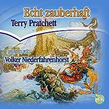 Echt zauberhaft: Ein Scheibenwelt-Roman Hörbuch von Terry Pratchett Gesprochen von: Volker Niederfahrenhorst