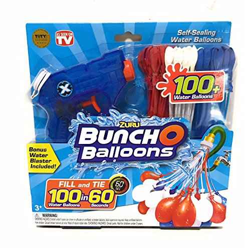 Zuru Bunch O Balloons Red White Amp Blue 100 Water Balloons
