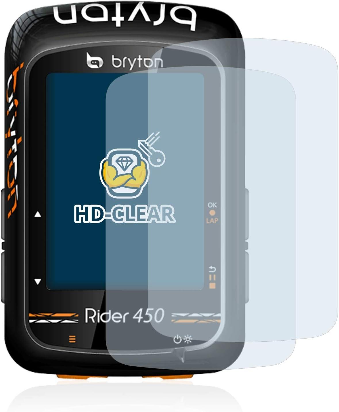 6x Film Protection pour Bryton Rider 10 Écran Protecteur Clair