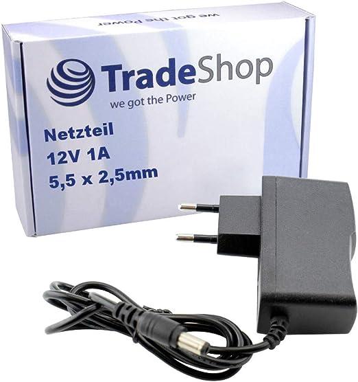 Ladegerät//Netzteil 12V 1,5A für Netgear GS116 12V   Schwarz