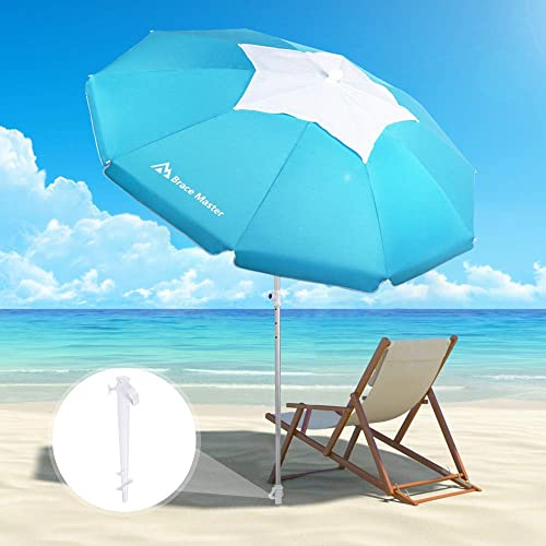 Brace Master Wind Resisitance Beach Umbrella