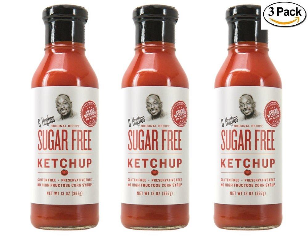 G Hughes Sugar Free Ketchup (3 Pack)