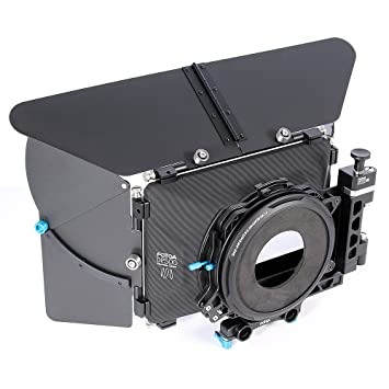 FOTGA DP500 Mark III 3 Pro DSLR Swing-Away Matte Box Sunshade for 15mm Rod Rig Fit for BMPCC BMCC 5D2 5D3 A7 A7S A7R II D500 GH4 FS700 Lens Accessories at amazon