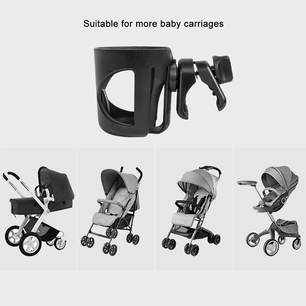 Stroller Cup Holder, Leegoal Cup Holder for Pushchairs Pram Buggy, Universal Pushchair Cup Holders for Baby Bottles, Drinking Cups, Beverage by Leegoal (Image #7)