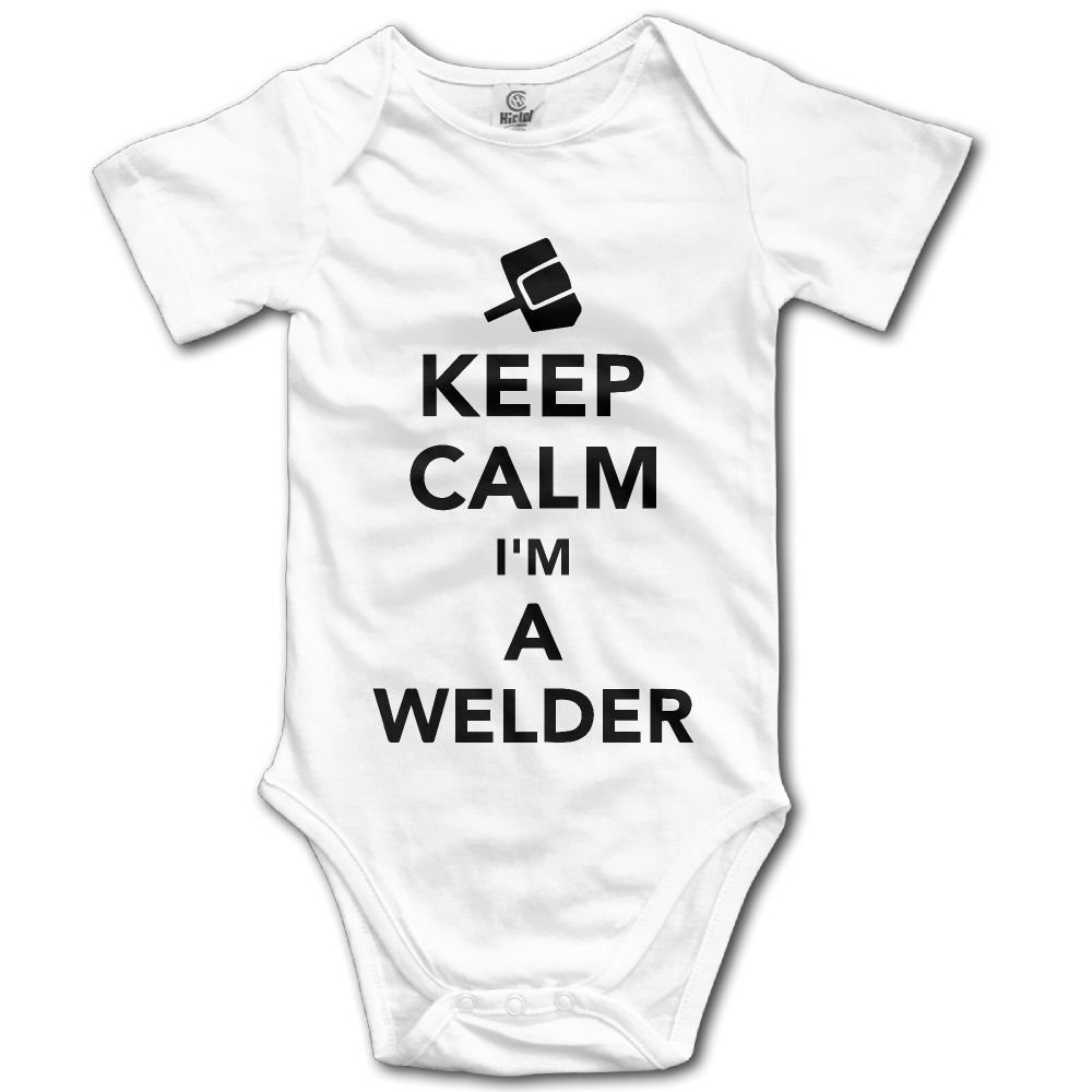 Edepon Baby Keep Calm Im A Welder Cotton Infant Onesie Baby Outfits